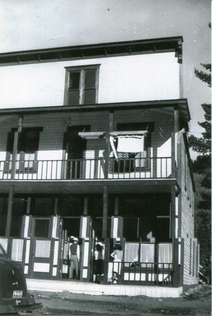 The Miners Hospital was re-purposed to serve as a hospital for the interned Japanese Canadians. circa 1943