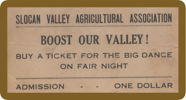 Getting into the dance required a ticket for admission - $1.00