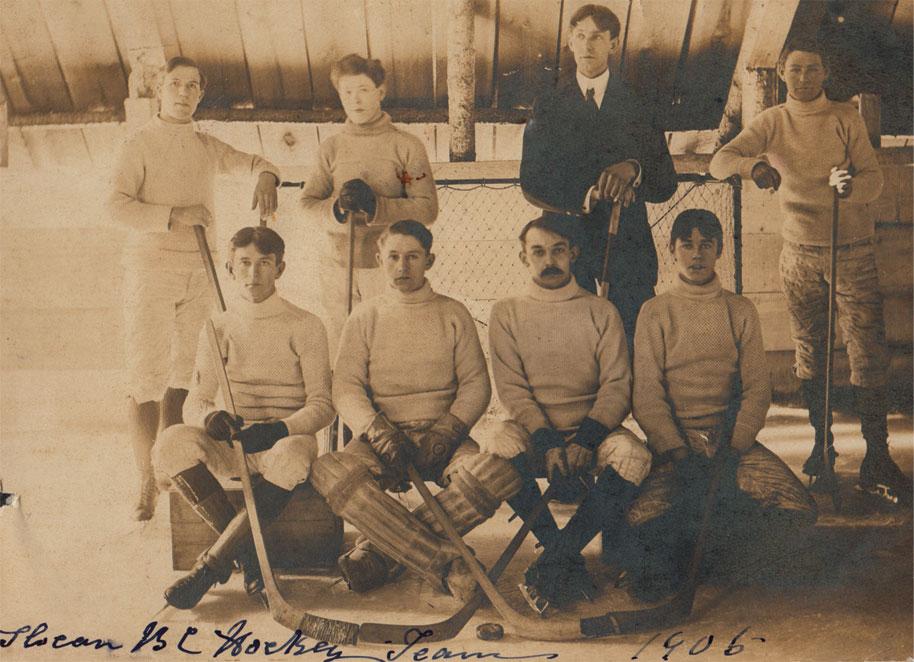 Slocan's Hockey Team - 1906