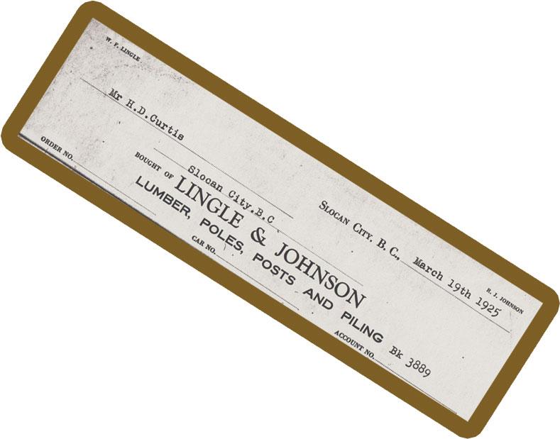 Lingle & Johnson Letterhead - 1925