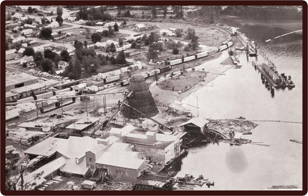 Slocan Mill site, circa 1960s