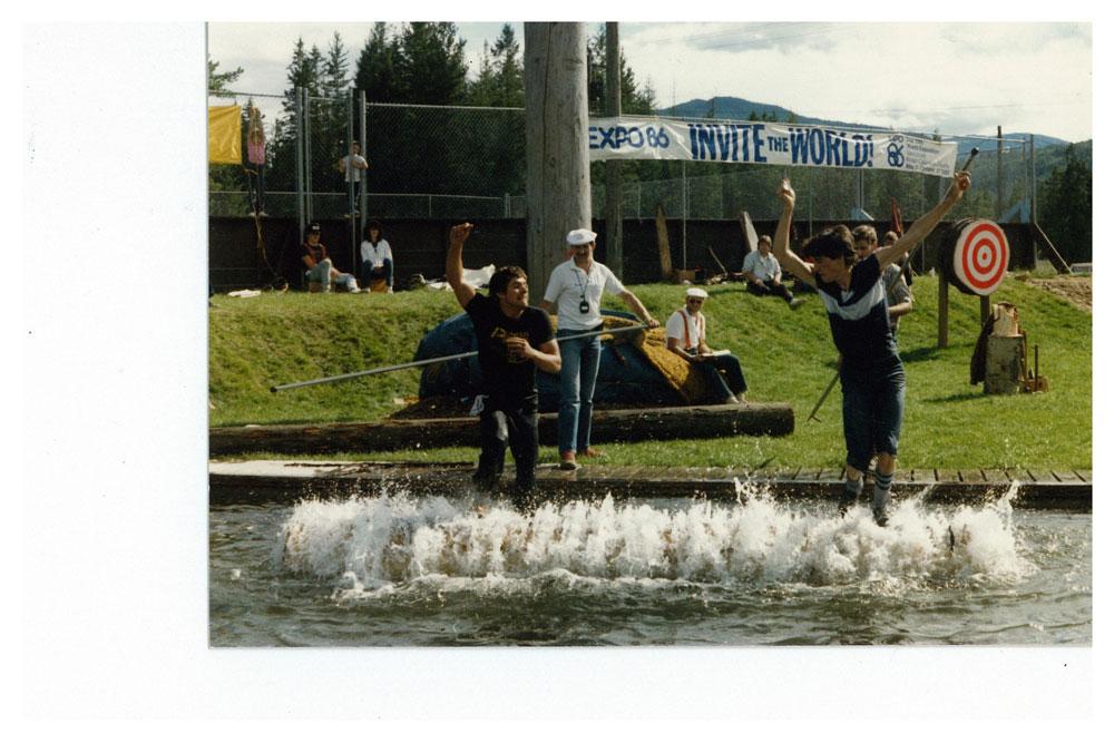 Logger's Sport Show Birling Event, 1986