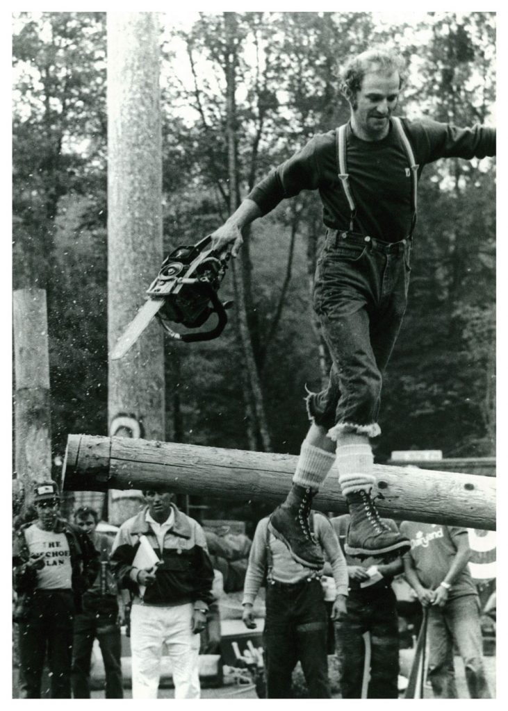 Logging Show 1990s, Walking on Air
