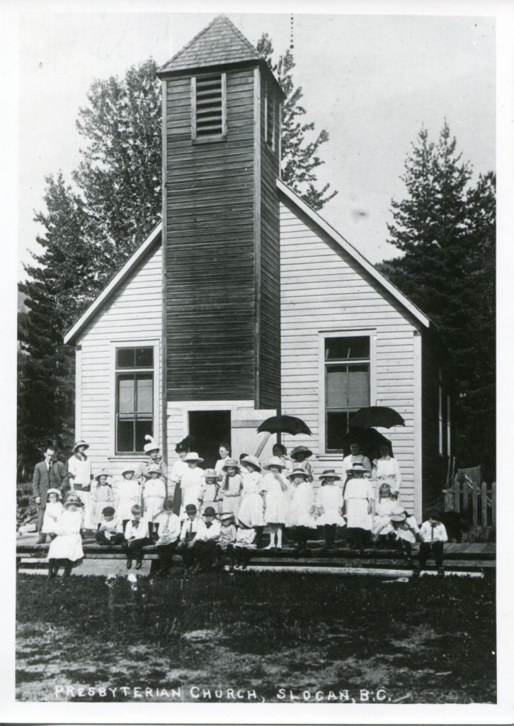 The Presbyterian Church circa 1900, later became the Knox United Church