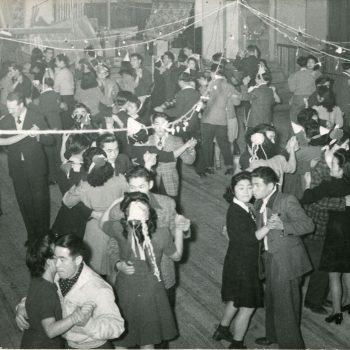 Dance at the Odd Fellows Hall, circa 1944