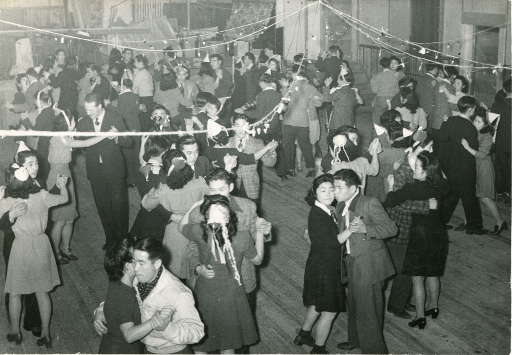 Dance at the Odd Fellows Hall, circa 1944