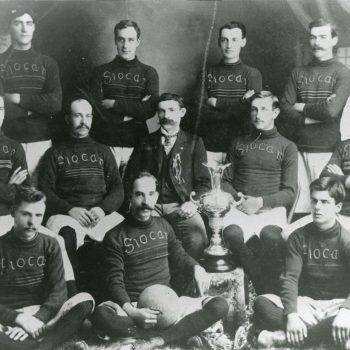 Slocan Soccer Team, 1901, won the Demonstration Cup