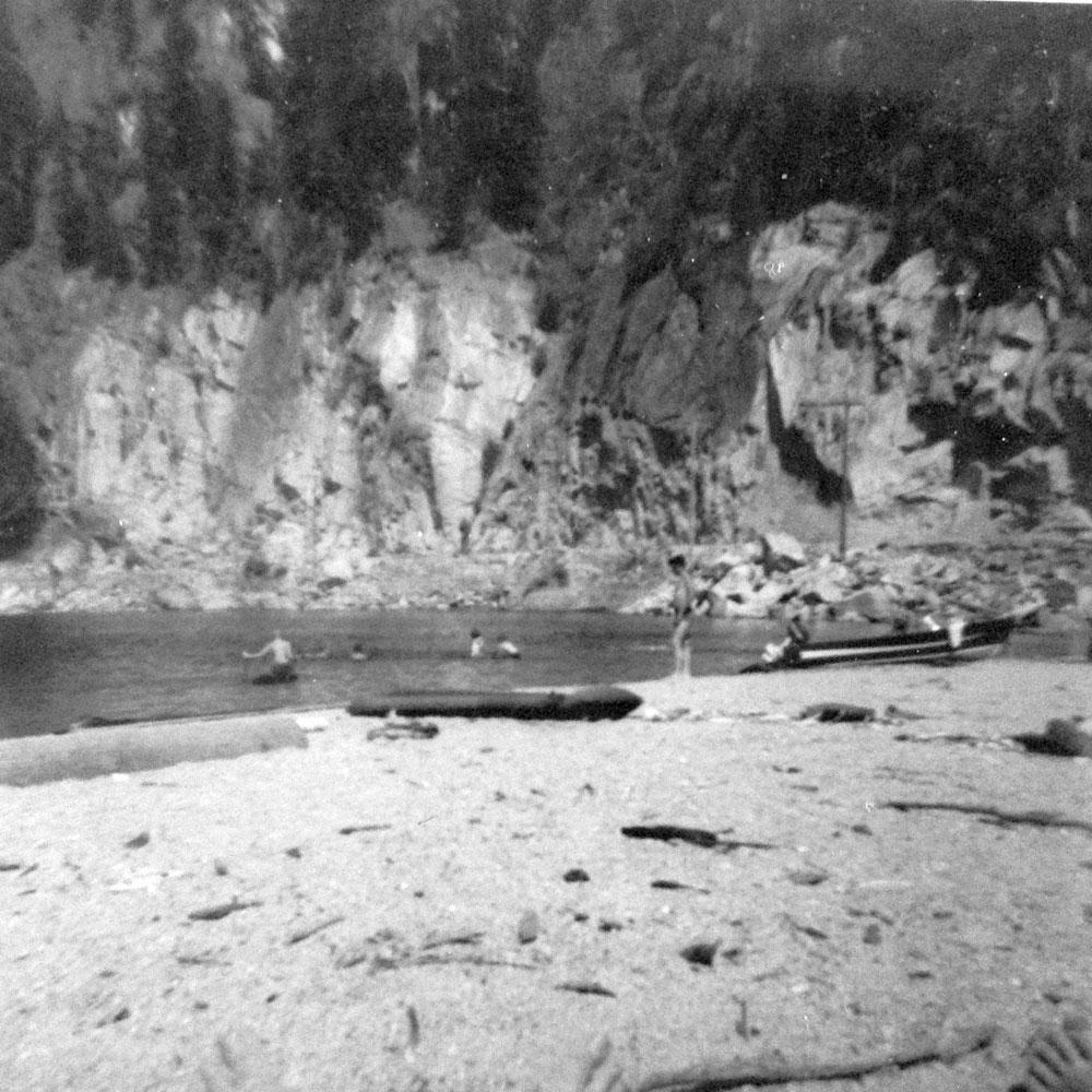 Slocan - Brandon beach, 1961