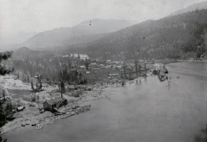 Ontario Slocan Mill at Slocan c.1917/18