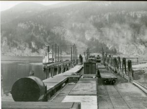 S.S. Rosebery at Slocan City wharf c.1930s courtesy of the Vancouver Library