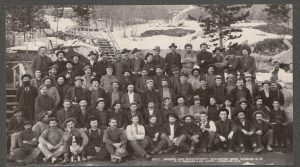 Miners & Management, Arlington Mine, Slocan, BC