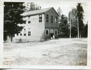 Slocan City Public School c.1929