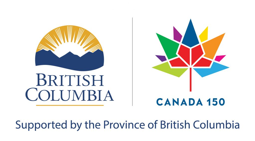BC|Canada 150 logo