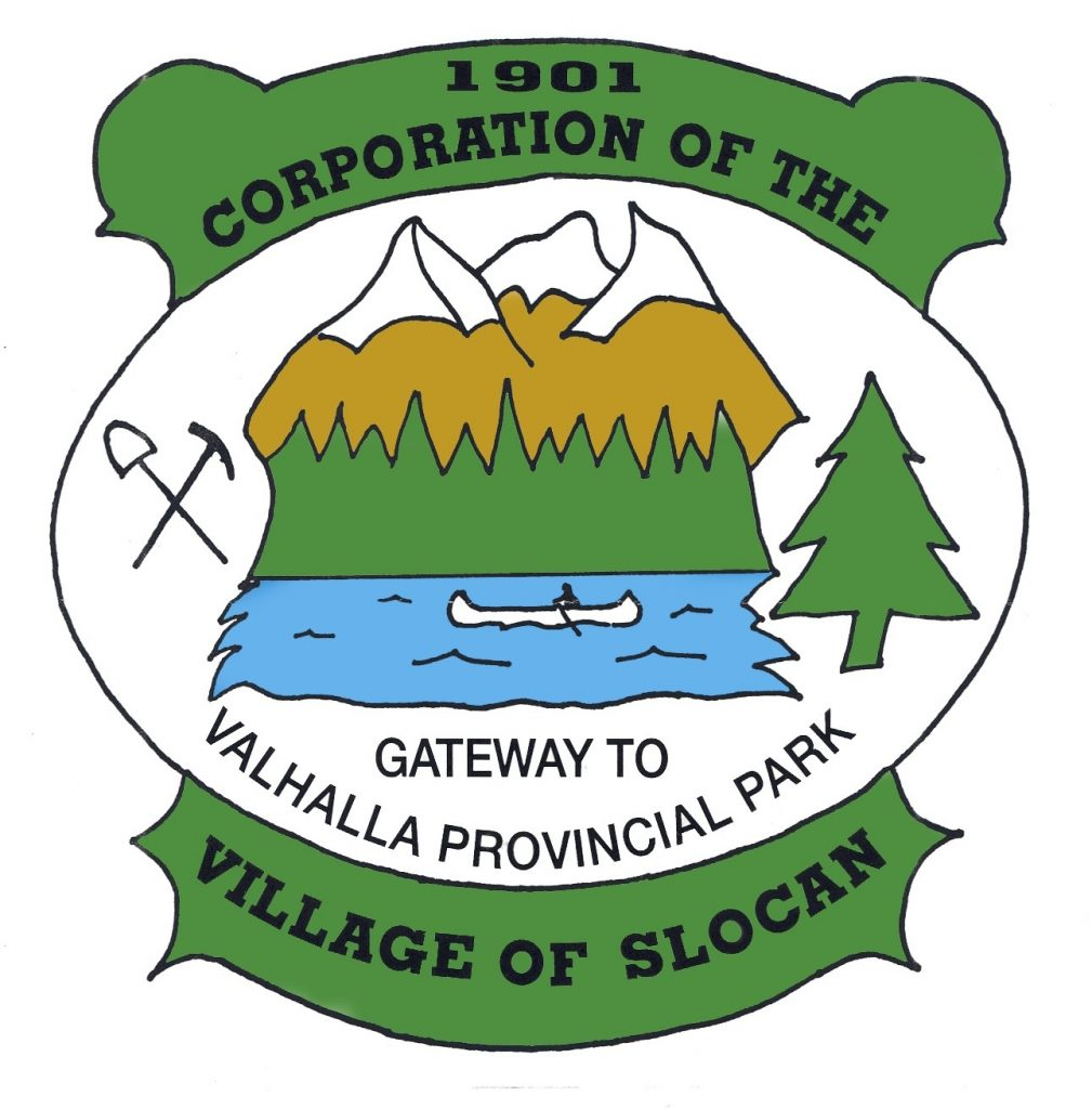 Village of Slocan logo
